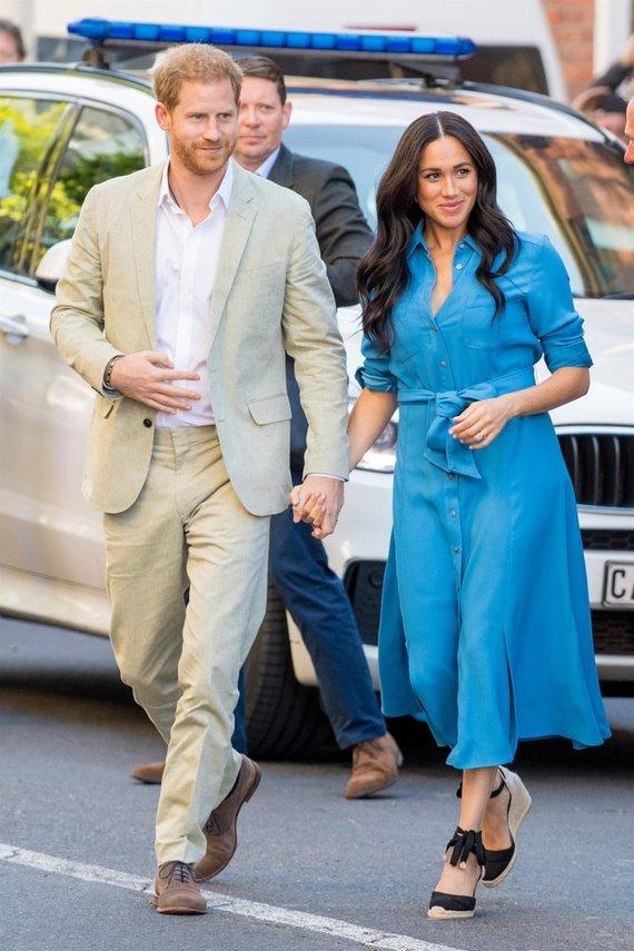 Vida Press nuotr./Princas Harry, Meghan Markle