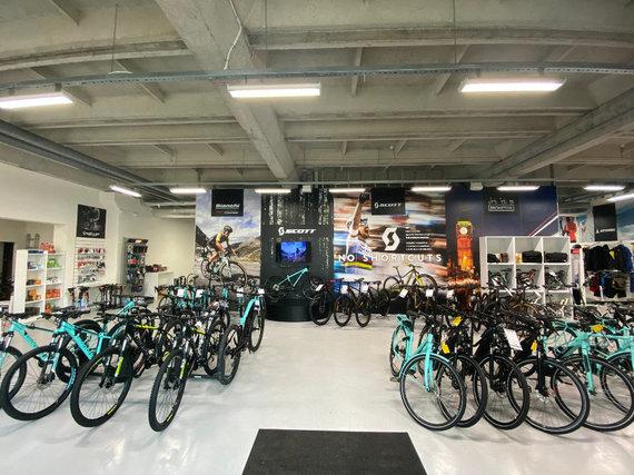 """Įmonės nuotr./""""Prosport.lt"""" dviračių parduotuvė"""