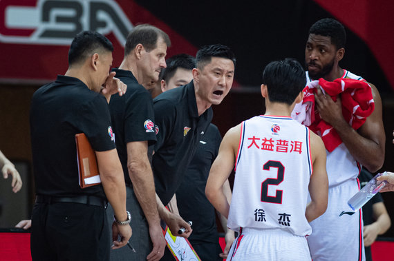 """Scanpix"" nuotr./Gintaras Krapikas ir ""Guangdong Southern Tigers"""