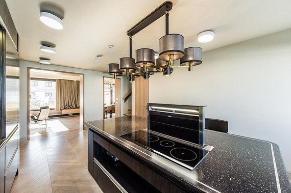 Aruodas.lt nuotr./Integruota aukštos kokybės virtuvės technika
