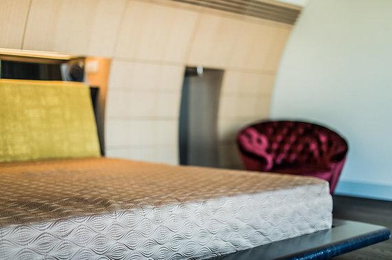 Aruodas.lt nuotr./Stilingas miegamasis – ramiam ir kokybiškam poilsiui