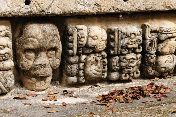 Shutterstock nuotr./Kopano archeologinė radimvietė, Hondūras