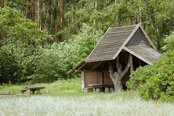 Kuršių nerijos nacionalinio parko direkcijos nuotr./Rožių krūmo poilsiavietė