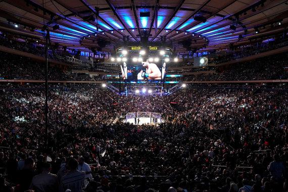 """Scanpix"" nuotr./""Madison Square Garden"" arena bokso kovos metu"