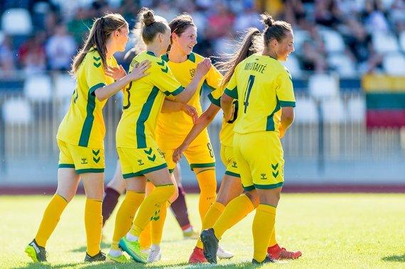 lff.lt nuotr./Lietuvos moterų futbolo rinktinė
