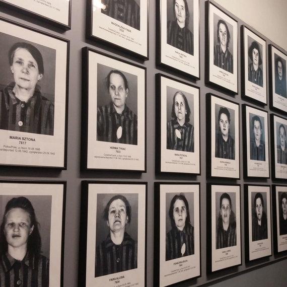 Asmeninio albumo nuotr./Iš pradžių pirmieji žmonės buvo fotografuojami, o nuotraukos archyvuojamos, vėliau naciai nuotraukų nebedarė dėl žmonių kiekio ir kad liktų kuo mažiau įkalčių.