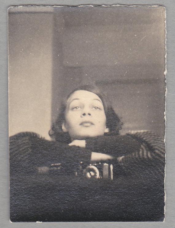 Asmeninio archyvo nuotr./ 15min nuotr./Elizos Račkauskaitės-Venclovienės nuotrauka, fotografuojanti save