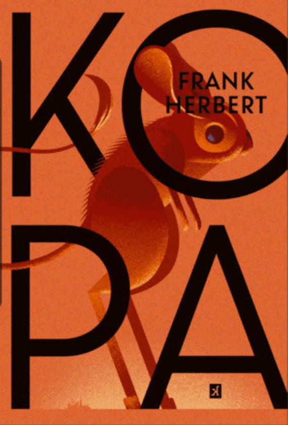 """Knygos viršelis/Franko Herberto romanas """"Kopa"""""""