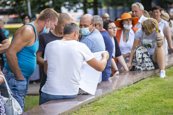 Ernestos Čičiurkaitės / 15min nuotr./Vakcinacija per Jūros šventę