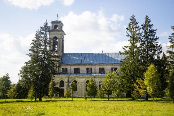 Ernestos Čičiurkaitės / 15min nuotr./Palendrių Šv. Benedikto vienuolyno akimirka
