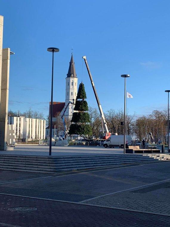 Šiaulių kultūros centro nuotr./Šiauliai ruošiasi Kalėdoms