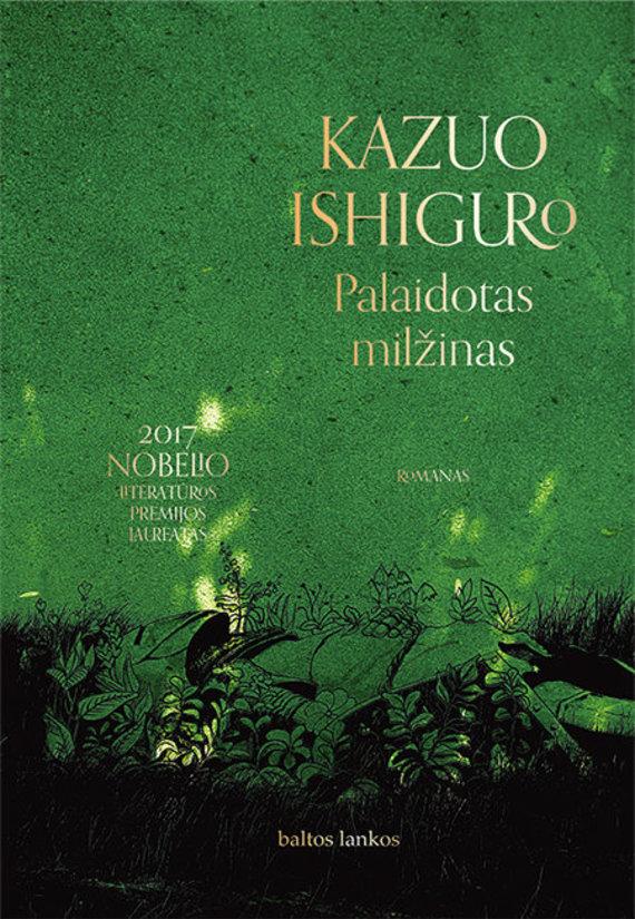 """Knygos viršelis/K.Ishiguro """"Palaidotas milžinas"""""""