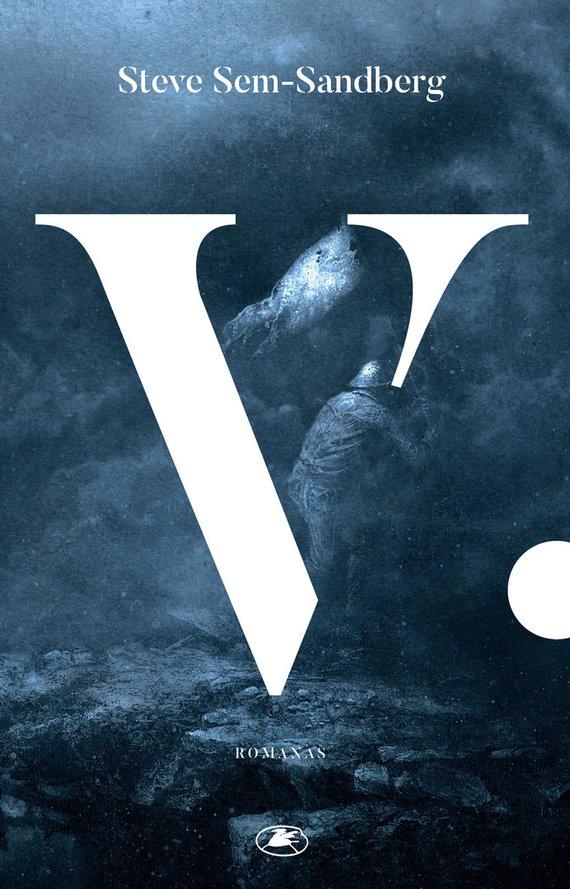"Knygos viršelis/Steve Sem-Sandberg ""V."""