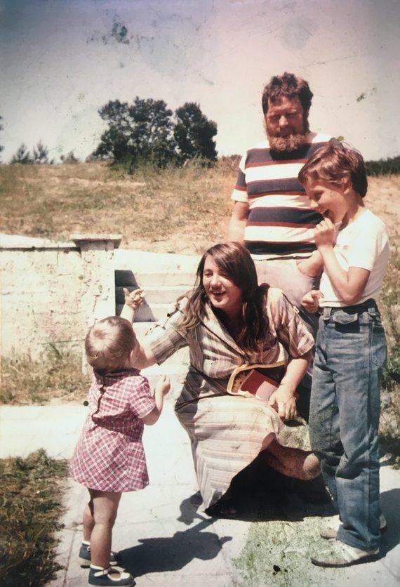 Asmeninio archyvo nuotr./Dineikų šeima