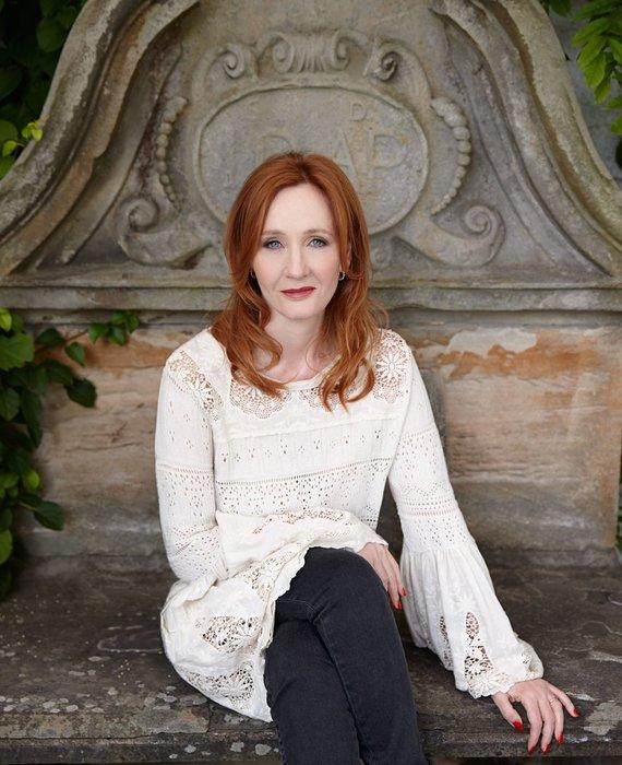 """""""Alma littera"""" nuotr./J.K.Rowling"""