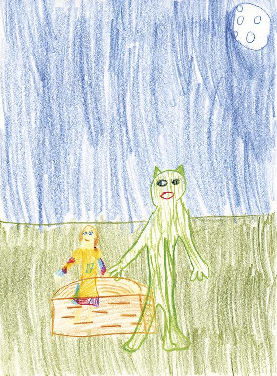 """""""Alma littera"""" nuotr./Akmilės Butėnaitės piešinys"""