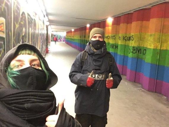 Asmeninio archyvo nuotr./Karolina ir Linas