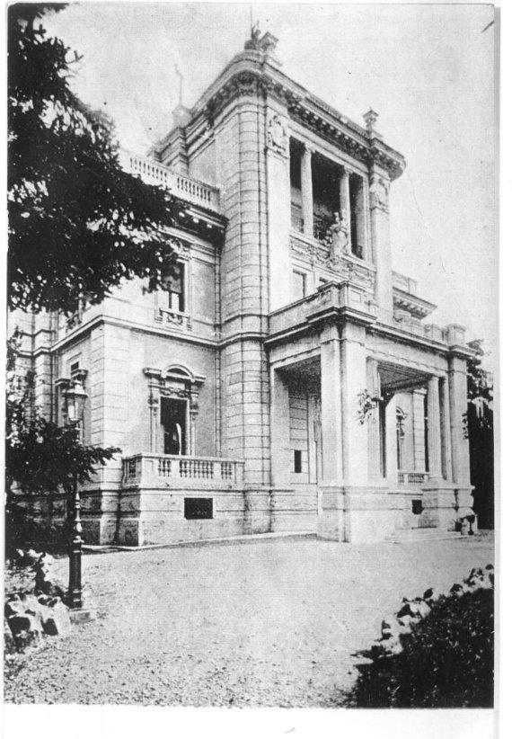 LR ambasados Italijoje archyvo nuotr./Villa Lituania