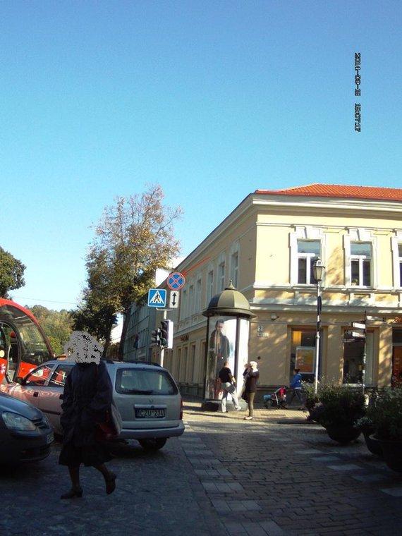 Pilies g. 1,Vilniuje: nuolatinių KET pažeidimų vieta