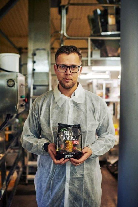 """Asmeninio archyvo nuotr./Pasvalyje įsikūręs """"Ustukių malūnas"""" yra vienas aktyviausių sveikų užkandžių gamintojų Lietuvoje"""