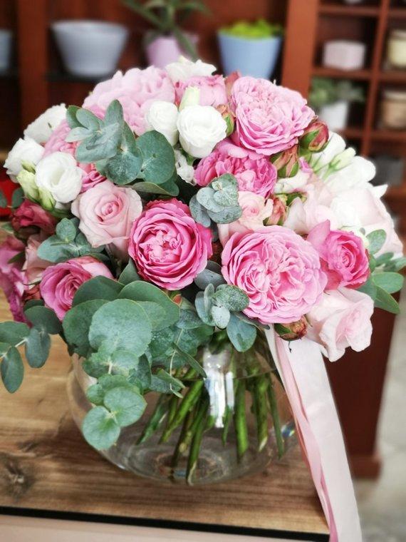 Asmeninio archyvo nuotr./Gėlės vazoje