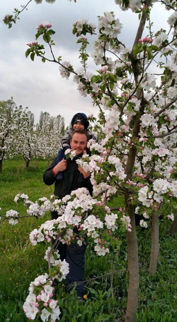 Asmeninio archyvo nuotr./G.Kuliešiui medelynas gražiausias pavasarį