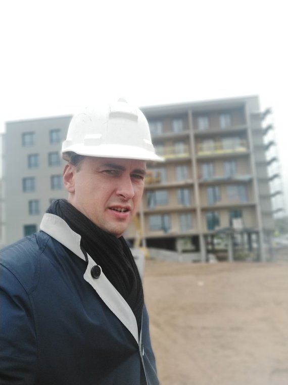 Partnerio nuotr./Architektas Kazimieras Reimeris