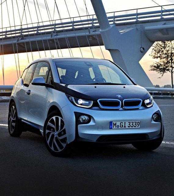 "Gamintojo nuotr. /Elektromobilis ""BMW i3"""