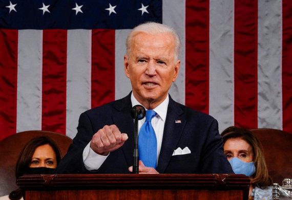 """Reuters""/""Scanpix"" nuotr./Joe Bidenas JAV Kongrese"