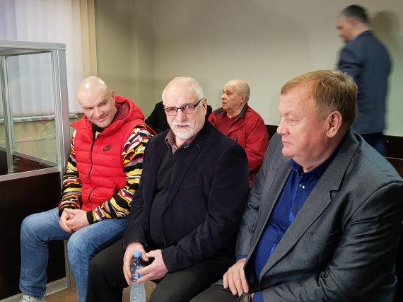 J. Andriejauskaitė / 15min photo / Ramūnas and Bronius Vyšniauskai and A.Jakimavičius