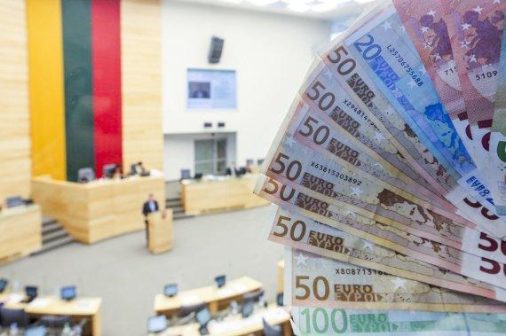 Irmanto Gelūno/15min.lt nuotr./Seimas pirmą kartą svarsto kitų metų biudžetą