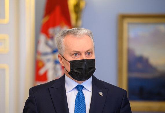LR Prezidento kanceliarijos/R.Dačkaus nuotr./Gitanas Nausėda