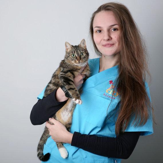 """""""PetCity"""" nuotr./""""PetCity"""" klinikos gydytoja, veterinarė Laima Naugžemienė"""