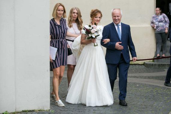 Juliaus Kalinsko / 15min nuotr./Dalios Lašaitės ir Igno Kamantausko vestuvės