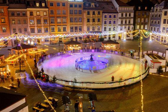 123rf.com nuotr./Kalėdų mugė Varšuvoje