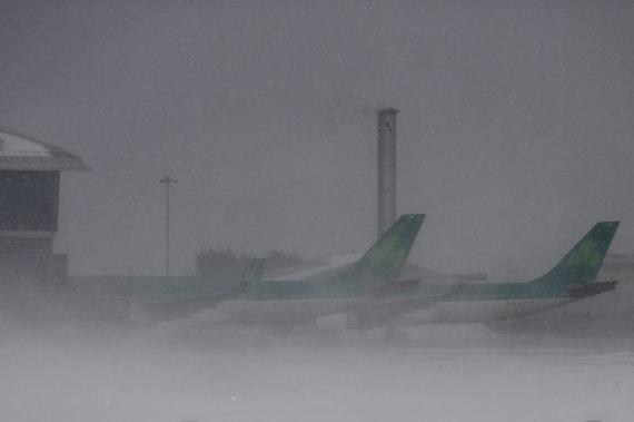 """Reuters""/""Scanpix"" nuotr./Pūga prie Dublino oro uosto"