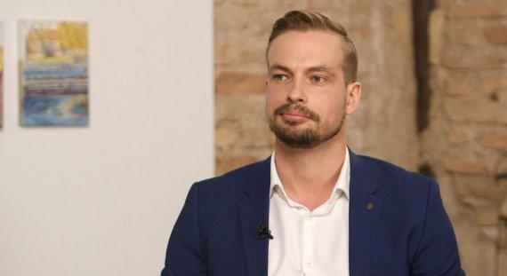 Jonas Fugalis / kadras iš laidos filmavimo