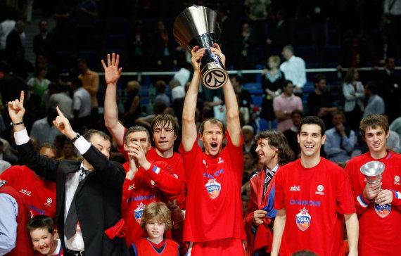 Getty Images/Euroleague.net nuotr./Ramūnas Šiškauskas 2008 m.