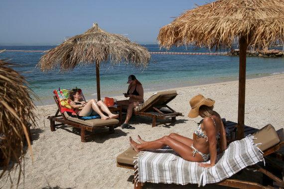 """""""Reuters""""/""""Scanpix"""" nuotr./Graikijos paplūdimys"""