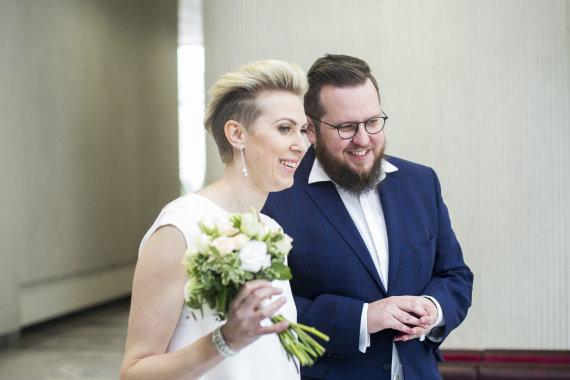 Ado Vasiliausko nuotr./Laimonas Kirkutis ir Jurga Ramanauskaitė