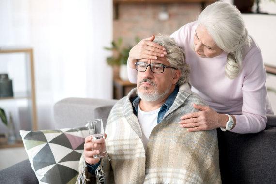 123RF.com nuotr./Gripas pavojingesnis vyresnio amžiaus žmonėms