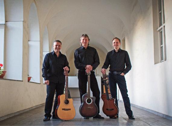 """Organizatorių nuotr./""""Vilnius Guitar Trio"""""""