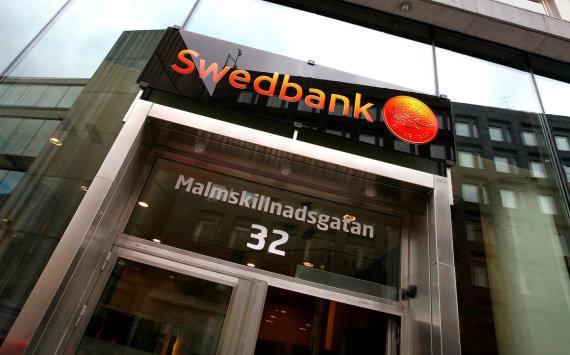 """Reuters""/""Scanpix"" nuotr./""Swedbank"" skyrius Stokholme"