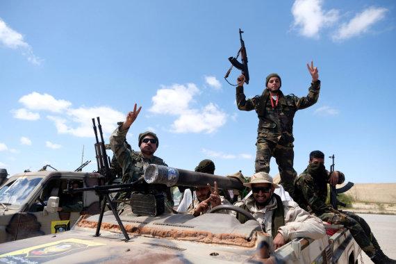 """""""Reuters""""/""""Scanpix"""" nuotr./Khalifos Haftaro pajėgos"""