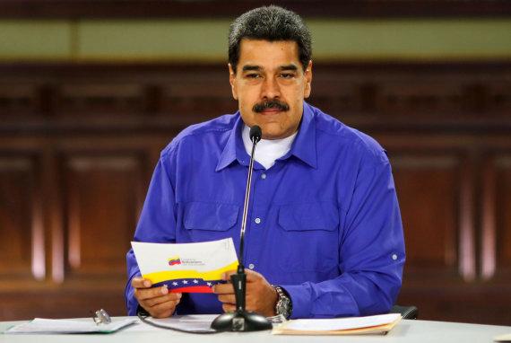 "AFP/""Scanpix"" nuotr./Nicolas Maduro"