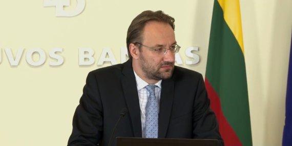 """""""Facebook"""" nuotr./Lietuvos banko Ekonomikos ir finansinio stabilumo tarnybos direktorius Gediminas Šimkus."""