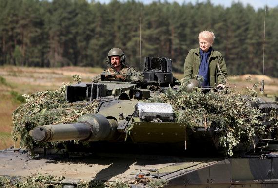 Eriko Ovčarenko/15min.lt nuotr./Prezidentė Dalia Grybauskaitė Rukloje