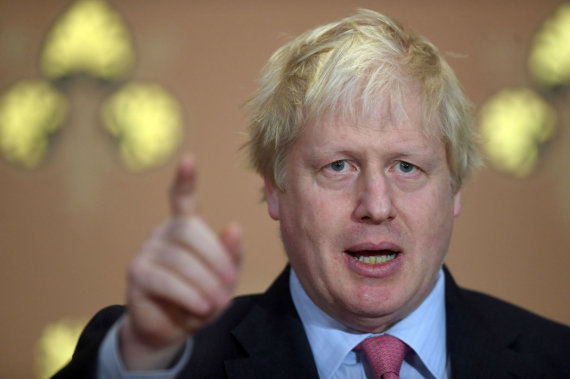 """Scanpix""/""PA Wire""/""Press Association Images"" nuotr./Borisas Johnsonas"