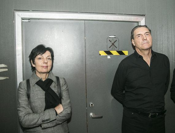 Viganto Ovadnevo/Žmonės.lt nuotr./Algirdas Kaušpėdas su žmona