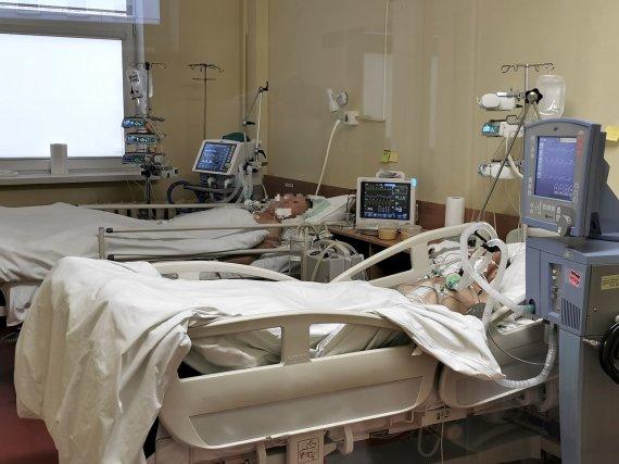 Nuotr. iš kul.lt/Klaipėdos universitetinės ligoninės medikų kova su COVID-19